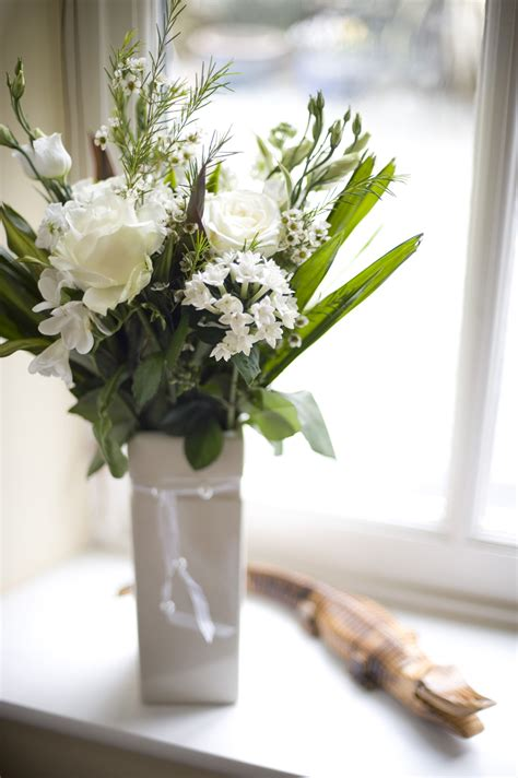 Flowers In White Vase vase of white flowers 4239 stockarch free stock photos