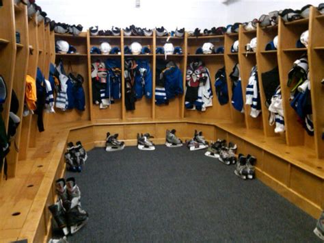 Locker Room Ma by Stoneham High School S Boys Hockey Team Gets New Locker