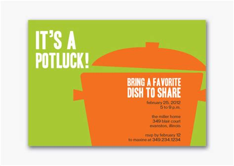 potluck email invitation template unavailable listing on etsy