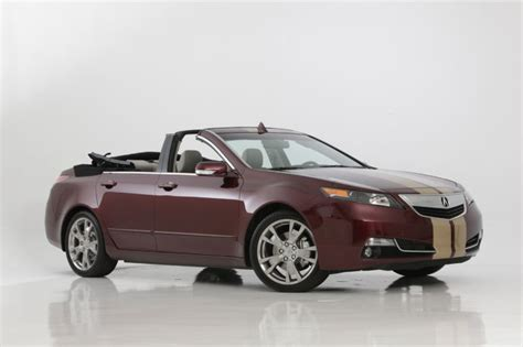 acura tl convertible acura tl gets convertible version from nce autoevolution