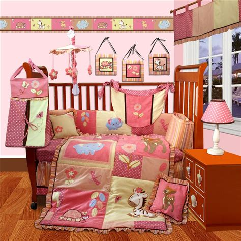Jungle Animal Crib Bedding Baby Boutique Jungle Animal 15 Pcs Crib Bedding Set Ebay