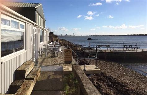 salty cafe locations tables and chairs ready for summer picture of salt cafe portchester tripadvisor