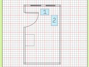 Home Design Graph Paper How To Draw A Floor Plan To Scale 7 Steps With Pictures