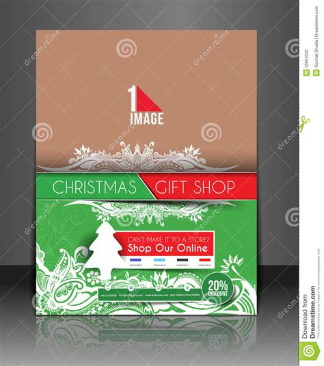 Gift Shop Flyer Stock Vector Image Of Document Design 35663522 Gift Flyer Template