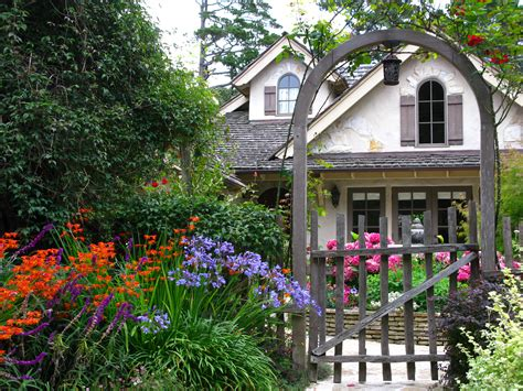 cottages gardens carmel s cottage gardens once upon a time tales from