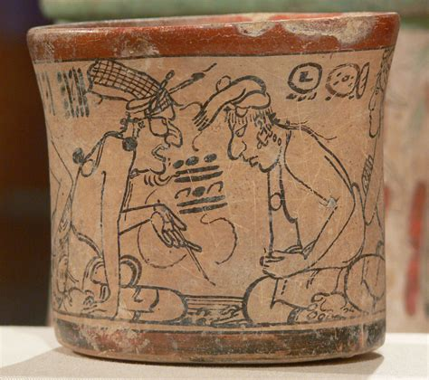 imagenes vasijas mayas file maya codex style vessel with two scenes 3 kimbell jpg