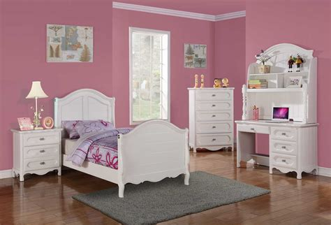 white girl bedroom set homelegance hayley bedroom set white b2007 bed set at