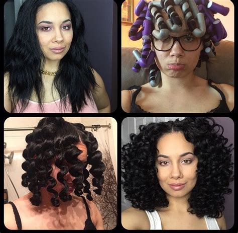 how to use flexi rods on natural hair braids 47 best flexi rods images on pinterest