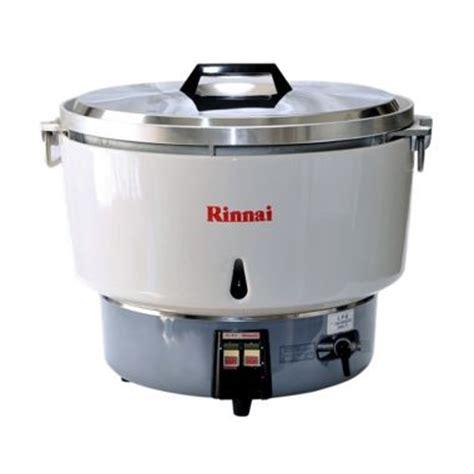 Gas Rice Cooker Kapasitas Besar Modena jual rinnai rr 50a rice cooker gas 9 liter harga kualitas terjamin blibli