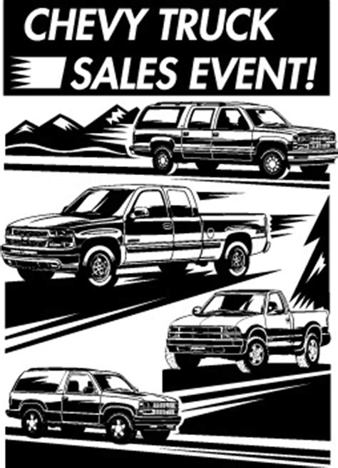 Kaos Truck Logo 1td chevrolet truck sales event logo in vector format ai illustrator and eps for free