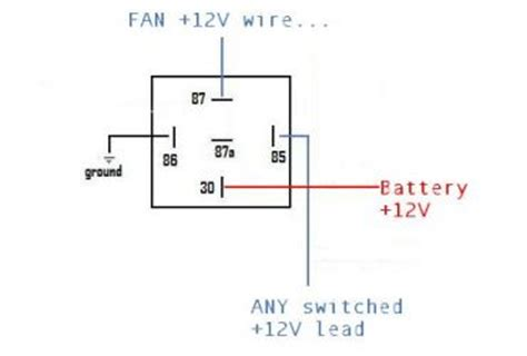 12v relay wiring diagram wedocable