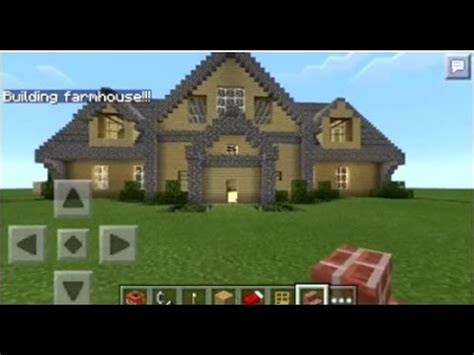 minecraft houses pe minecraft pe how to spawn houses youtube