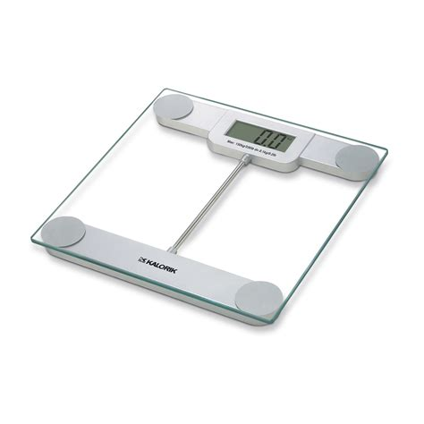Bathroom Scale by Kalorik Ebs 39693 Precision Digital Glass Bathroom Scale