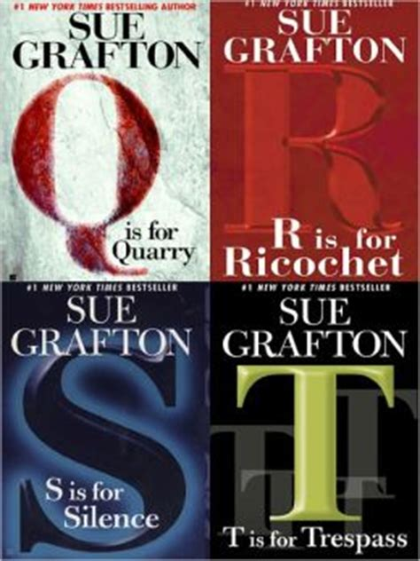 q is for quarry a kinsey millhone mystery books q is for quarry r is for ricochet s is for silence t is