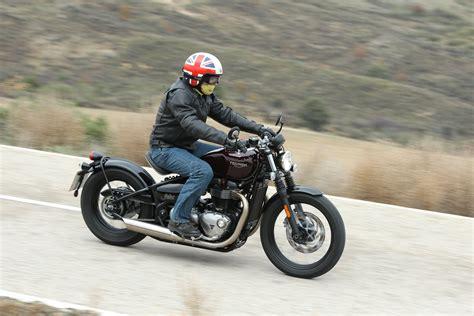 121516 Triumph Bonneville Bobber B32A2476   Motorcycle.com