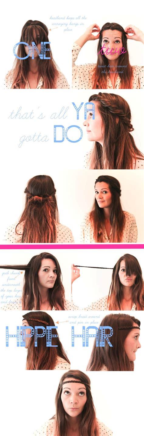 hair tutorial headband tuck treasures travels summer hair two styles treasures travels