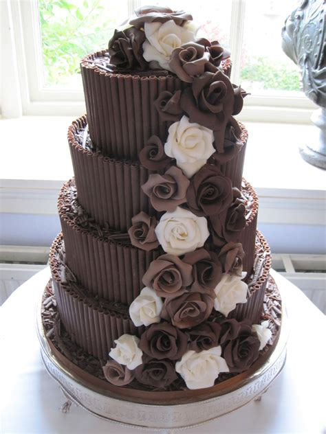 Chocolate Wedding Cakes Pictures by Chocolate Wedding Cupcakes Recipe Dishmaps