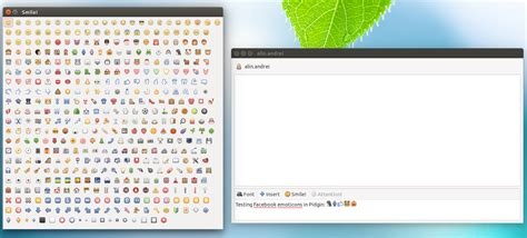 facebook themes install how to install facebook and others emoticons in pidgin