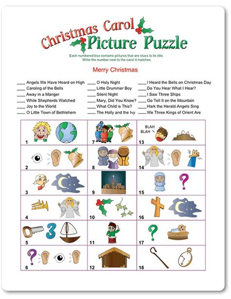 printable christmas games puzzles adults 17 best images about december projects on pinterest