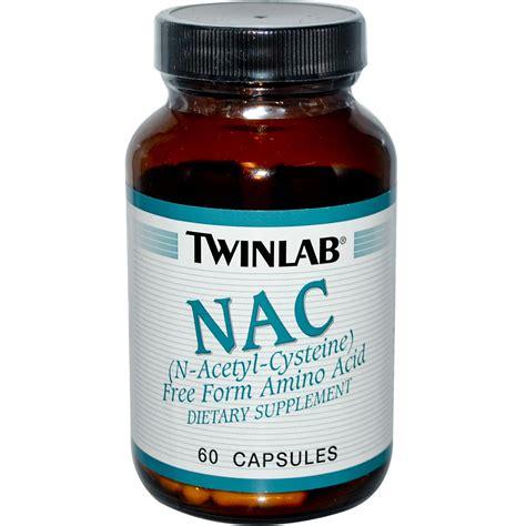supplement nac twinlab nac n acetyl cysteine 60 capsules iherb