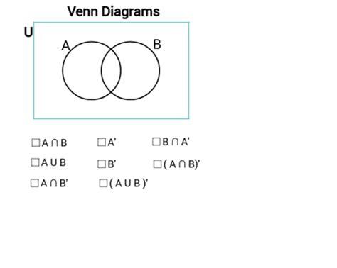 28 Set Notation Venn Diagrams Geogebra