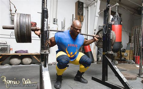 ronnie coleman bench max get stronger at squats with this 12 week super squat workout