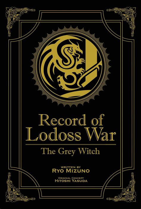 anime genre war record of lodoss war the grey witch novel