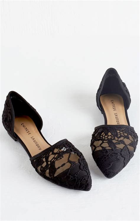 black lace flats shoes black lace flats shoes 28 images office macaroon black