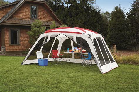 backyard screen house northwest screen house territory outdoor canopy gazebo vented roof tent 14x12 ft ebay