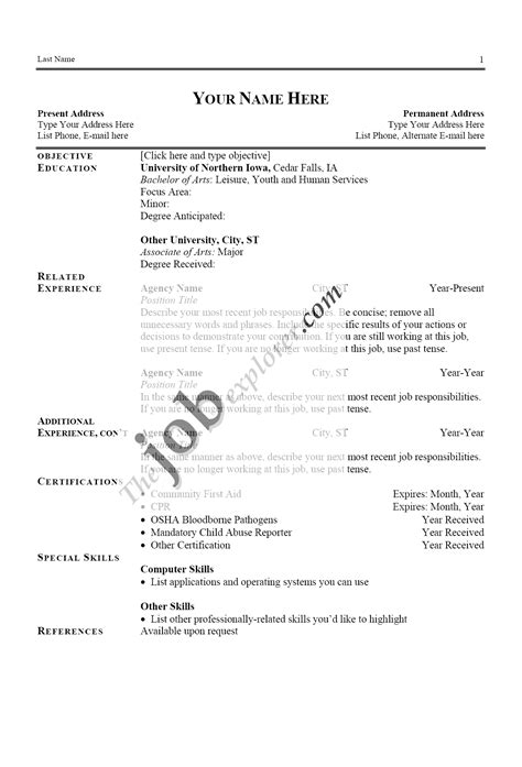 exles of two page resumes resume template 1st draft essay exle cover