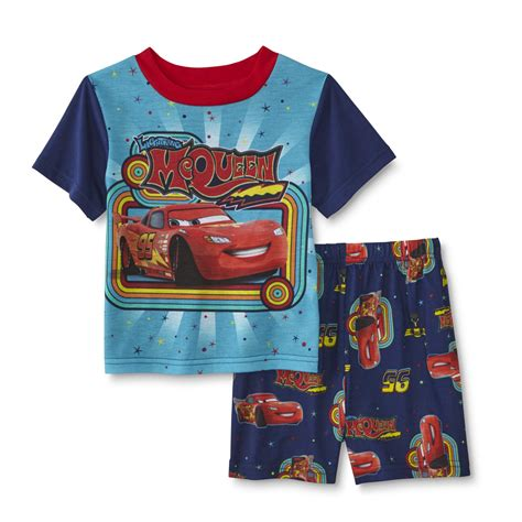 Pajamas Cars disney infant toddler boy s pajama set lightning mcqueen
