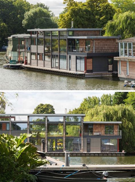houseboat with garage 17 best ideas about boat garage on pinterest boat house