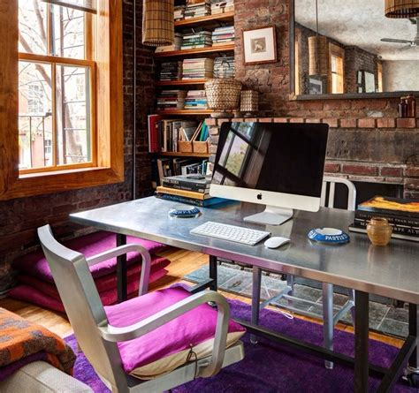 industrial style home office desk the industrial style home office