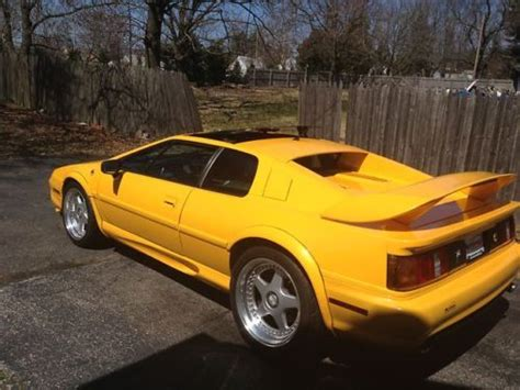 service manual 1998 lotus esprit manual used 1998 lotus esprit esprit v8 for sale in