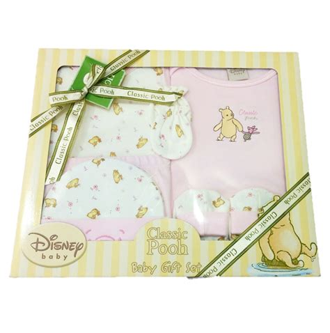 6 pcs disney classic pooh baby gift set pooh piglet baby shop sg baby products