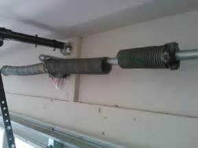 garage how to tighten garage door springs home garage ideas