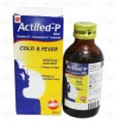 Actified 60 Ml actifed p cold tab 400 s