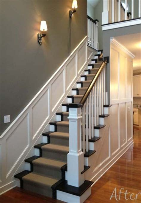 Stair Wainscoting by Best 20 Wainscoting Stairs Ideas On