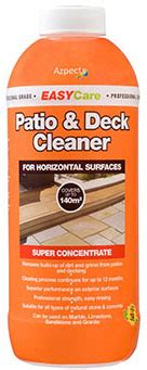 easy patio deck cleaner removing stubborn dirt
