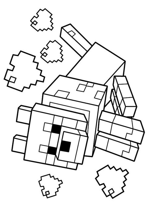 coloring pages of minecraft print coloring image homeschool minecraft