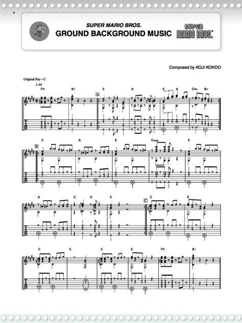 tutorial guitar mario bros guitar super mario guitar tabs super mario super mario