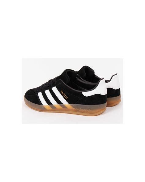 Adidas Cus Black White Gum adidas gazelle indoor black white gum originals