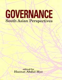 reference books governance governance south asian perspectives the