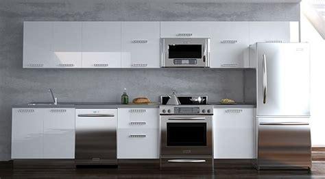 White Contemporary Kitchen Cabinets by Modern Kitchen Design White Cabinets Modern Design