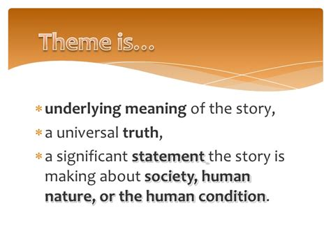 universal themes in short stories fiction and non fiction