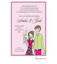 wedding reception invitation wording sles from groom after the wedding invitations or elopement invitations elopement