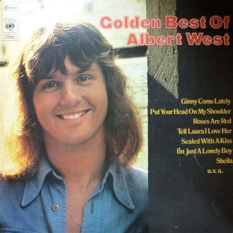 albert west ginny come lately albert west golden best of albert west vinyl lp at