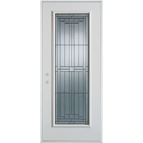 Stanley Doors 32 In X 80 In Architectural Full Lite Steel Exterior Doors Home Depot