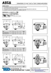 asco du atex explosion proof operator hazardous area solenoid valve o