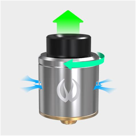 Rda Icon 24 Mm icon rda 24mm mike vapes by vandy vape